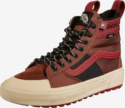VANS Sneaker 'Sk8-Hi' in braun / kirschrot / schwarz, Produktansicht