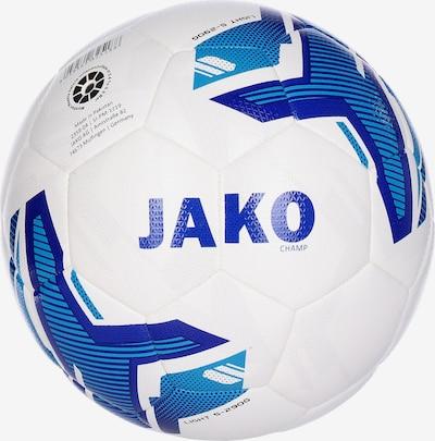JAKO Ball 'Hybrid Champ' in royalblau / weiß, Produktansicht