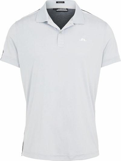 J.Lindeberg Functioneel shirt in de kleur Antraciet / Lichtgrijs, Productweergave