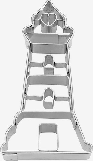 STÄDTER Ausstechform 'Leuchtturm' in silber, Produktansicht