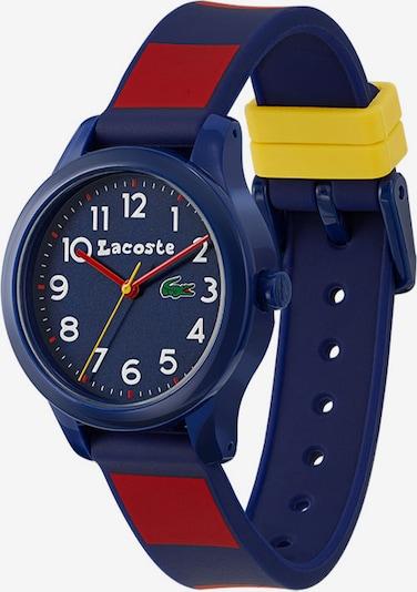 LACOSTE Uhr in navy / gelb / grün / rot, Produktansicht