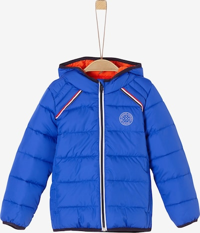 s.Oliver Steppjacke in blau / orange, Produktansicht
