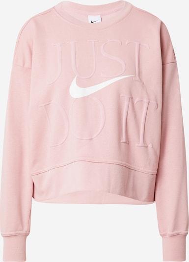 NIKE Athletic Sweatshirt in Pink / White, Item view