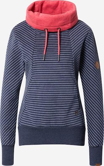 Alife and Kickin Sweater majica 'Sue' u golublje plava / koraljna / bijela, Pregled proizvoda
