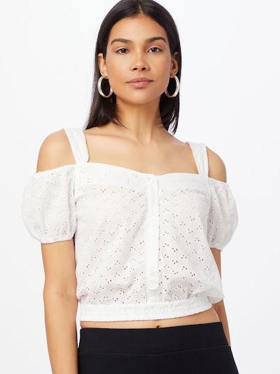 LTB Bluse 'PIWONE' in weiß, Modelansicht