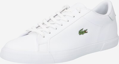 LACOSTE Sneakers laag 'Lerond Plus' in de kleur Groen / Rood / Wit, Productweergave