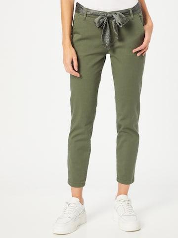 FREEMAN T. PORTER Chino-püksid 'Claudia', värv roheline