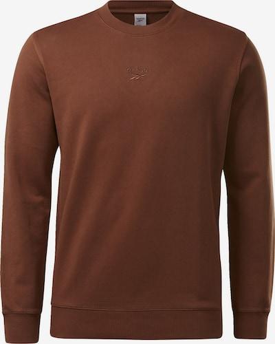 Reebok Classic ' Classics Premium Washed Crew Sweatshirt ' in braun, Produktansicht