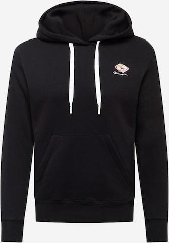 Sweat-shirt Champion Authentic Athletic Apparel en noir