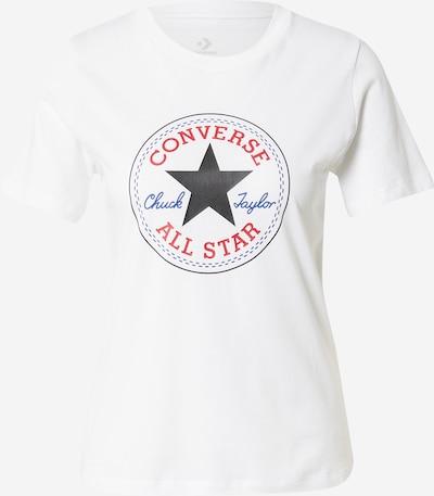 CONVERSE Tričko - námořnická modř / červená / bílá, Produkt