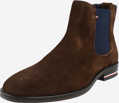 TOMMY HILFIGER Chelsea Boots in nachtblau / dunkelbraun, Produktansicht