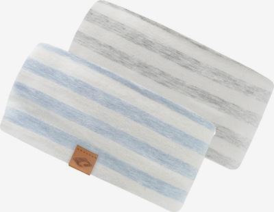 chillouts Лента за чело 'Pueblo' в светлосиньо / сив меланж / естествено бяло, Преглед на продукта