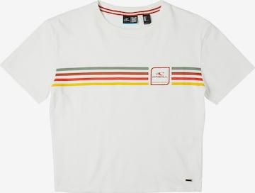 O'NEILL Shirt 'Rainbow' in Weiß