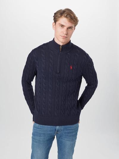 POLO RALPH LAUREN Sweater in Navy: Frontal view