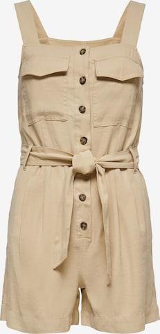 ONLY Jumpsuit 'Noreen-Aris' i beige