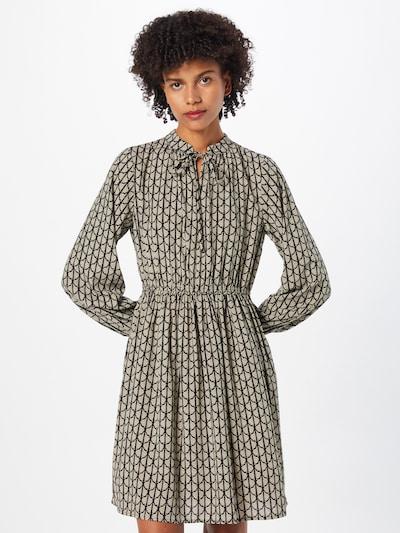 ABOUT YOU Kleid 'Tessy' in beige / schwarz, Modelansicht