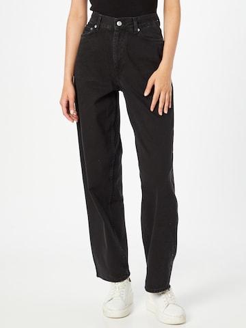 Jeans 'Rail' di WEEKDAY in nero