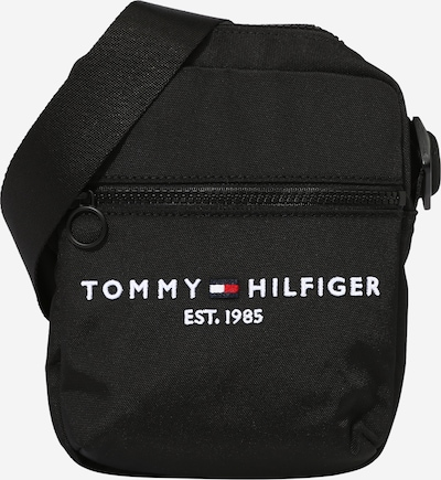 TOMMY HILFIGER Pleca soma sarkans / melns / balts, Preces skats