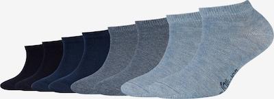 s.Oliver Sneakersocken 'Originals' in taubenblau / dunkelblau / anthrazit / schwarz, Produktansicht