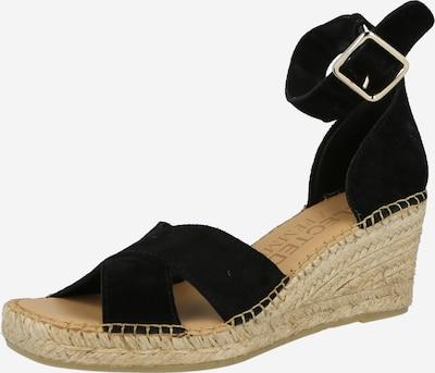 SELECTED FEMME Sandale 'SLFESTHER' in schwarz, Produktansicht