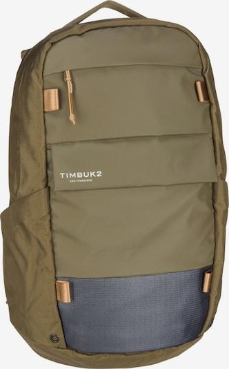 TIMBUK2 Rucksack in dunkelgrau / oliv, Produktansicht