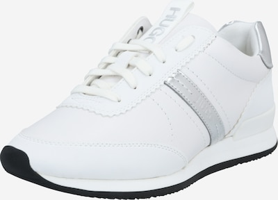 HUGO Sneakers low 'Adrienne' in Silver / White, Item view