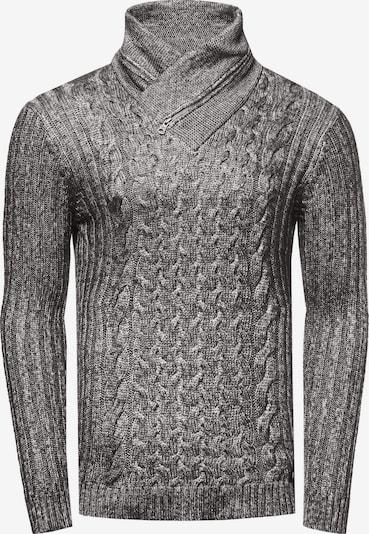 Rusty Neal Strickpullover in schwarz, Produktansicht