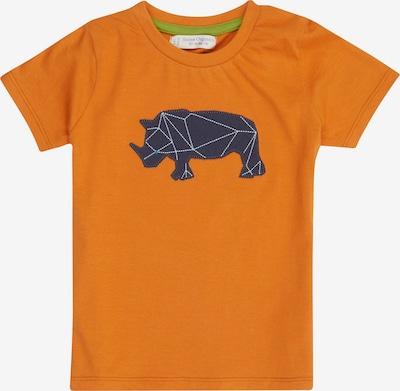 Sense Organics T-Krekls 'Ibon' tumši zils / oranžs, Preces skats