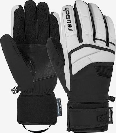 REUSCH Fingerhandschuhe 'Steven R-TEX® XT' in schwarz / weiß, Produktansicht