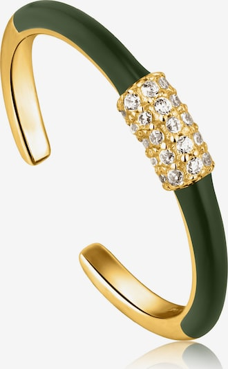 ANIA HAIE Ring in Gold / Green, Item view