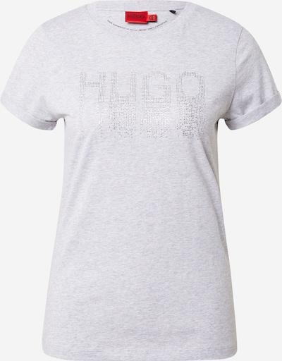 HUGO Shirt in mottled grey / Silver, Item view