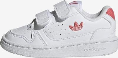 ADIDAS ORIGINALS Sneaker in grenadine / weiß, Produktansicht