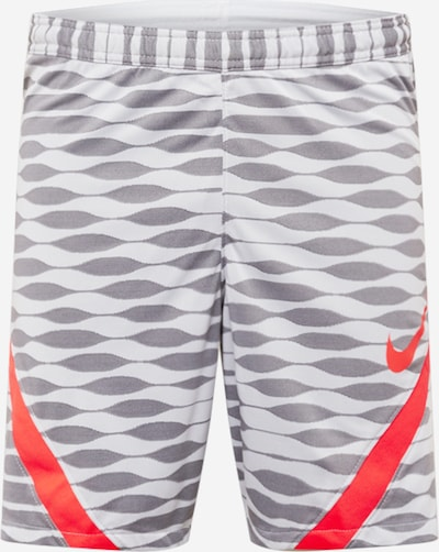 NIKE Sporthose in grau / rot, Produktansicht