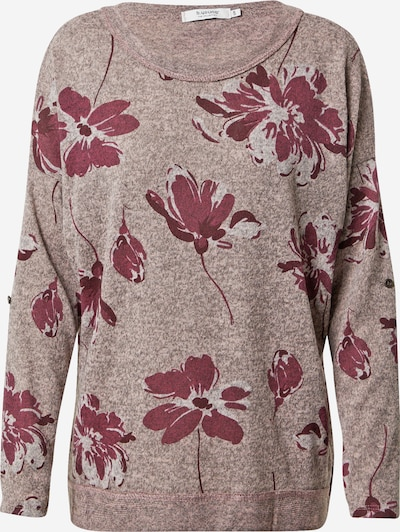 b.young Pullover in grau / rosa, Produktansicht