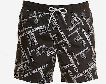 Karl Lagerfeld Zwemshorts in Zwart