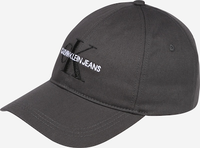 Calvin Klein Jeans Cap in grau / schwarz / weiß, Produktansicht