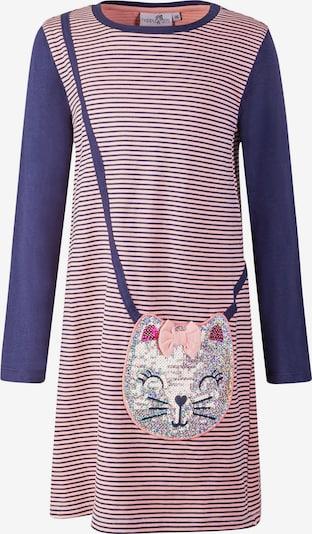 happy girls Kleid in navy / rosa, Produktansicht