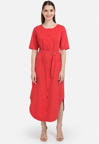 HELMIDGE Sommerkleid in rot, Modelansicht
