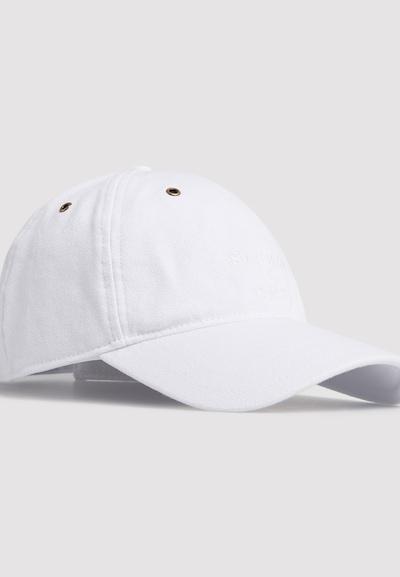 Superdry Casquette en blanc, Vue avec produit