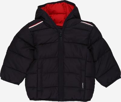 s.Oliver Jacke in dunkelblau / rot / weiß, Produktansicht