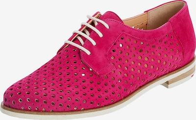 LLOYD Schnürschuhe mit Lochung in pink, Produktansicht