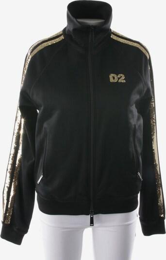 DSQUARED2  Sweatjacke in XS in schwarz, Produktansicht