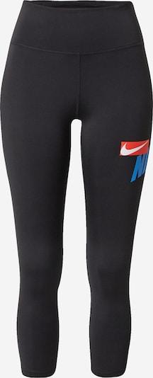 Pantaloni sport NIKE pe albastru / roșu / negru / alb, Vizualizare produs