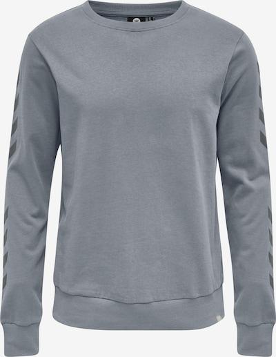 Hummel Sweatshirt in graumeliert / schwarz, Produktansicht