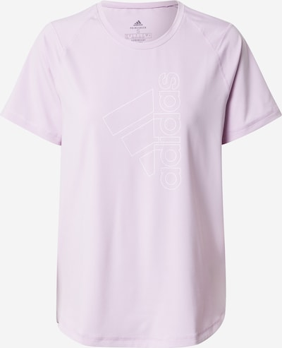 ADIDAS PERFORMANCE Functioneel shirt in de kleur Lila / Wit, Productweergave