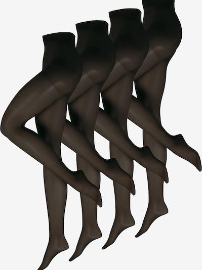 Nur Die Panty's ' Fit in Form, 40 Den ' in de kleur Zwart, Productweergave