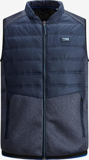 JACK & JONES Bodywarmer 'Toby' in de kleur Marine / Navy, Productweergave