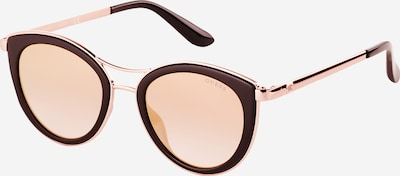 Ochelari de soare GUESS pe portocaliu piersică / negru, Vizualizare produs