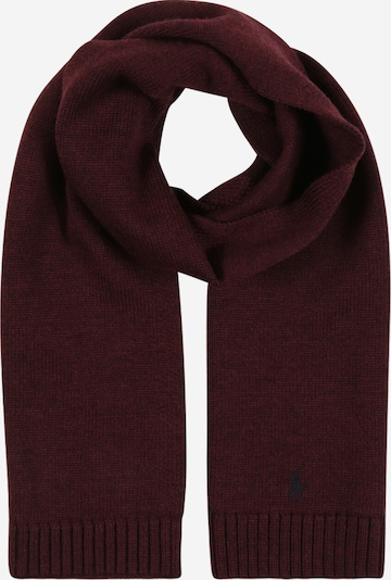 POLO RALPH LAUREN Scarf in wine red, Item view