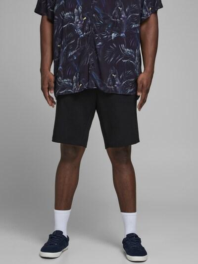 Jack & Jones Plus Chino kalhoty 'Phil' - černá, Model/ka